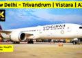 vistara new delhi trivandrum