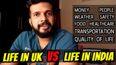 Should you come to UK? Life in UK Vs Life in India